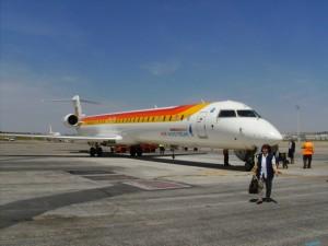 Flugzeug Iberia