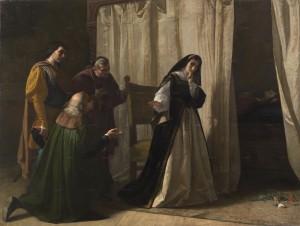 Lorenzo Vallés: Demencia de doña Juana de Castilla