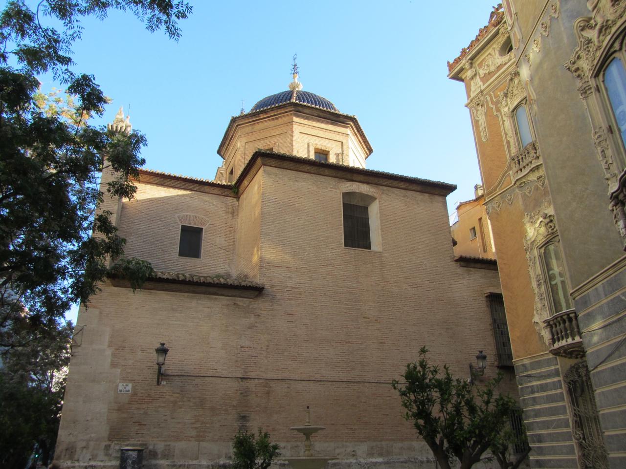Valencia, Kathedrale (Rückseite)