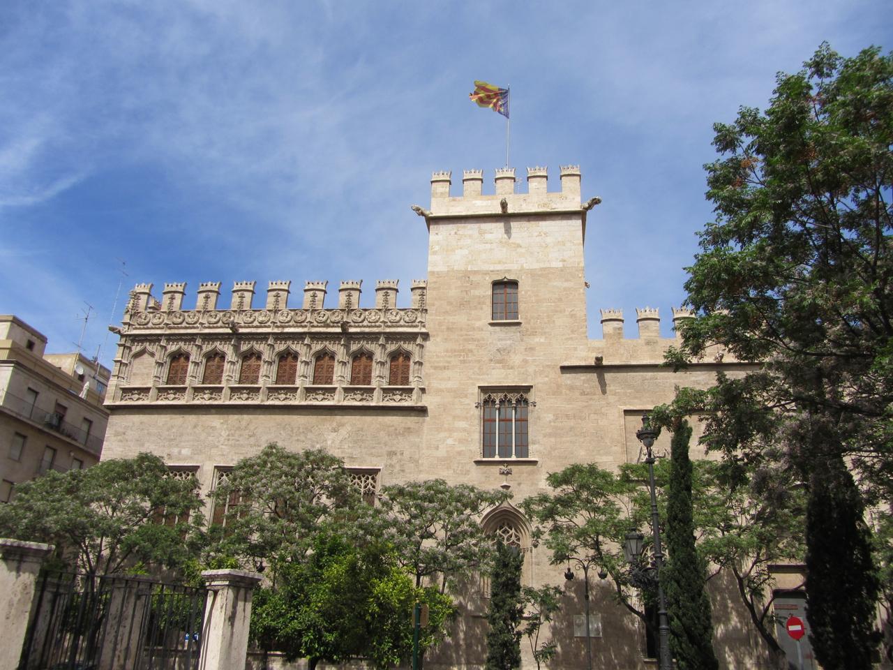 Valencia: Lonja de la Seda