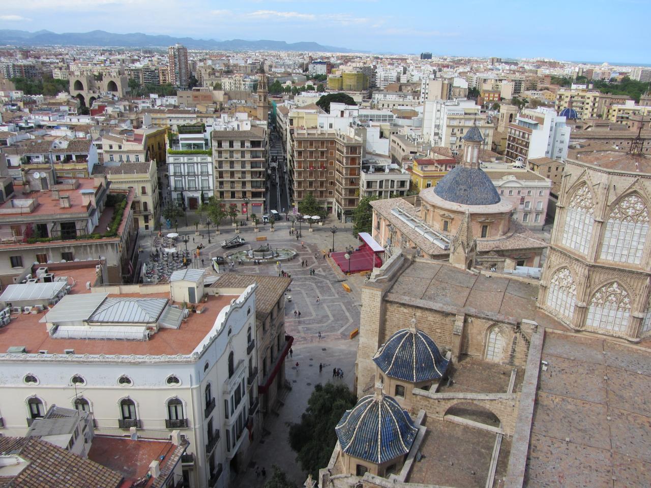 Valencia, vom Miguelete aus gesehen