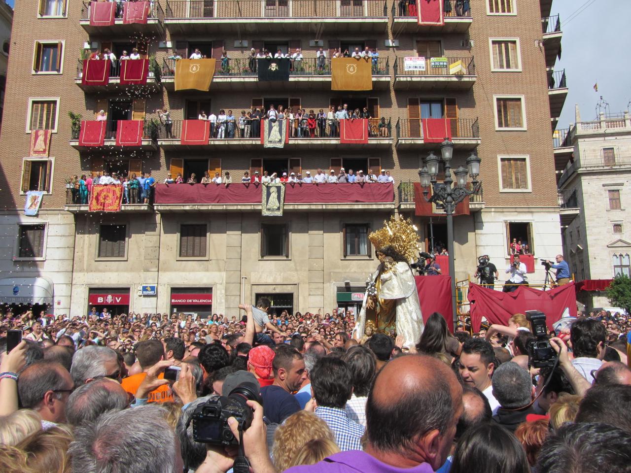 Valencia, Fiesta de la Virgin