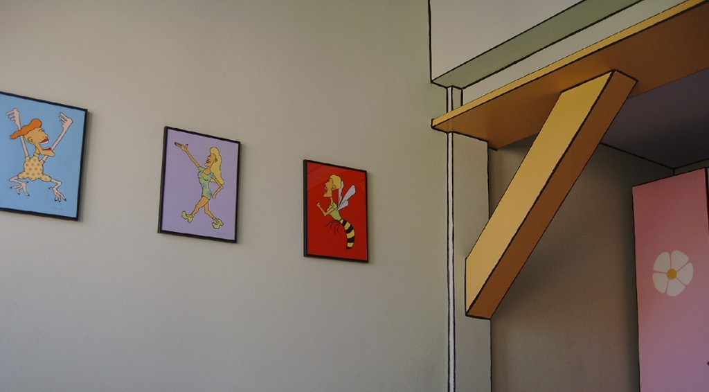 """Zimmer im """"Künstlerheim Luise"""""""