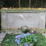 Loriots Grab auf dem Waldfriedhof Heerstraße, Berlin