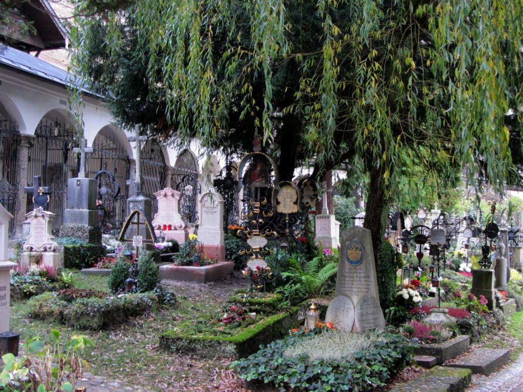 Petersfriedhof, Salzburg, Österreich