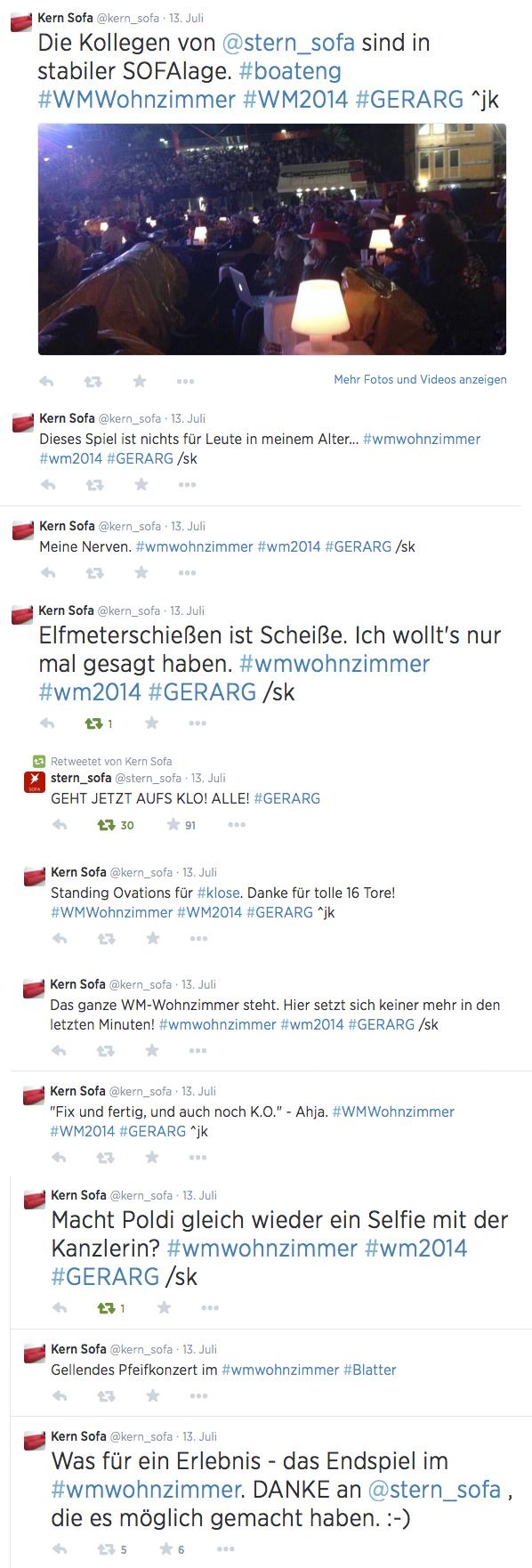Twitter-Nachlese